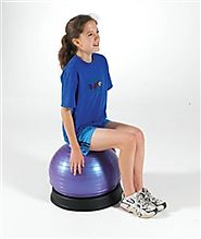 Sportime BallBowl Therapy Anti-Skid Ball Ring (for 18 to 22 inch Therapy Balls) - Autism Therapy Accessories - Balanc...
