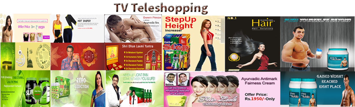 Headline for TV Teleshopping