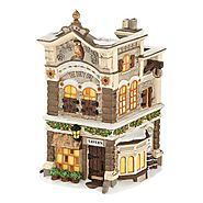 Department 56 New England Village The Dirty Owl Lit House, 6.7-Inch