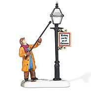 Department 56 New England Village New England Lamplighter