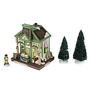 Department 56 New England Village 2012 Annual Gift Set, Nantucket Christmas Taffy Lit House, 6.14-Inch