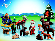 """Christmas in the Forest"" Advent Calendar by PLAYMOBIL"