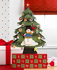 Christmas Tree Advent Calendar by Constructive Playthings