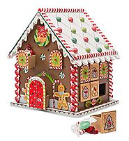 Gingerbread House Advent Calendar by Les Hans HK LMTD/Connor