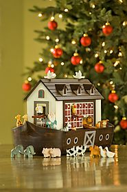 Noah's Ark Advent Calendar by Gardener's Supply