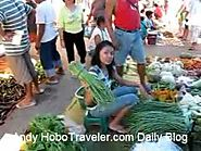 Food Market in Bauang Philippines in Province of La Union near San Fernando