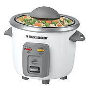 Black and Decker 6-Cup Rice Cooker - Kitchen Things