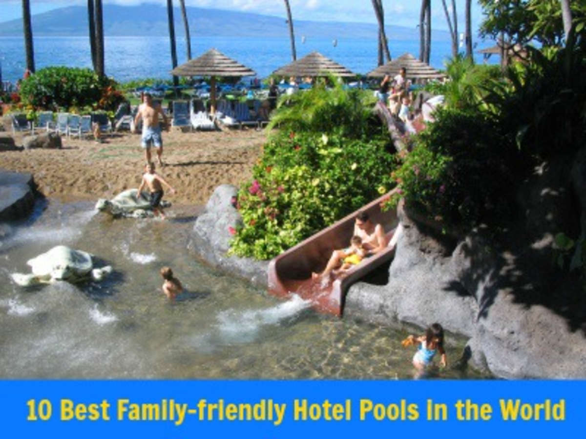 Headline for 10 Best Family Hotel Pools in the World
