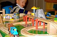 Trains capture the imaginations of young and old.