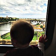 Rail travel gives kids more freedom.
