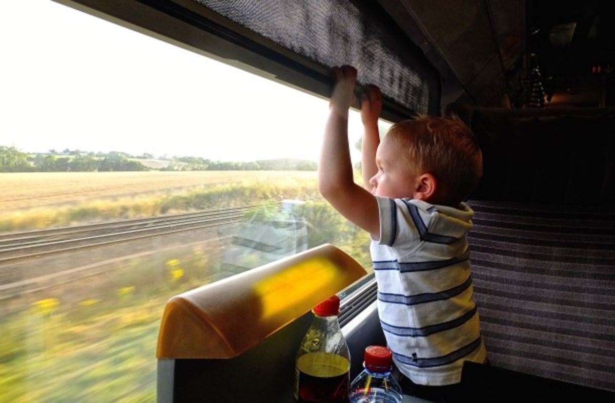 Headline for 5 Reasons to Travel Europe by Train with Kids