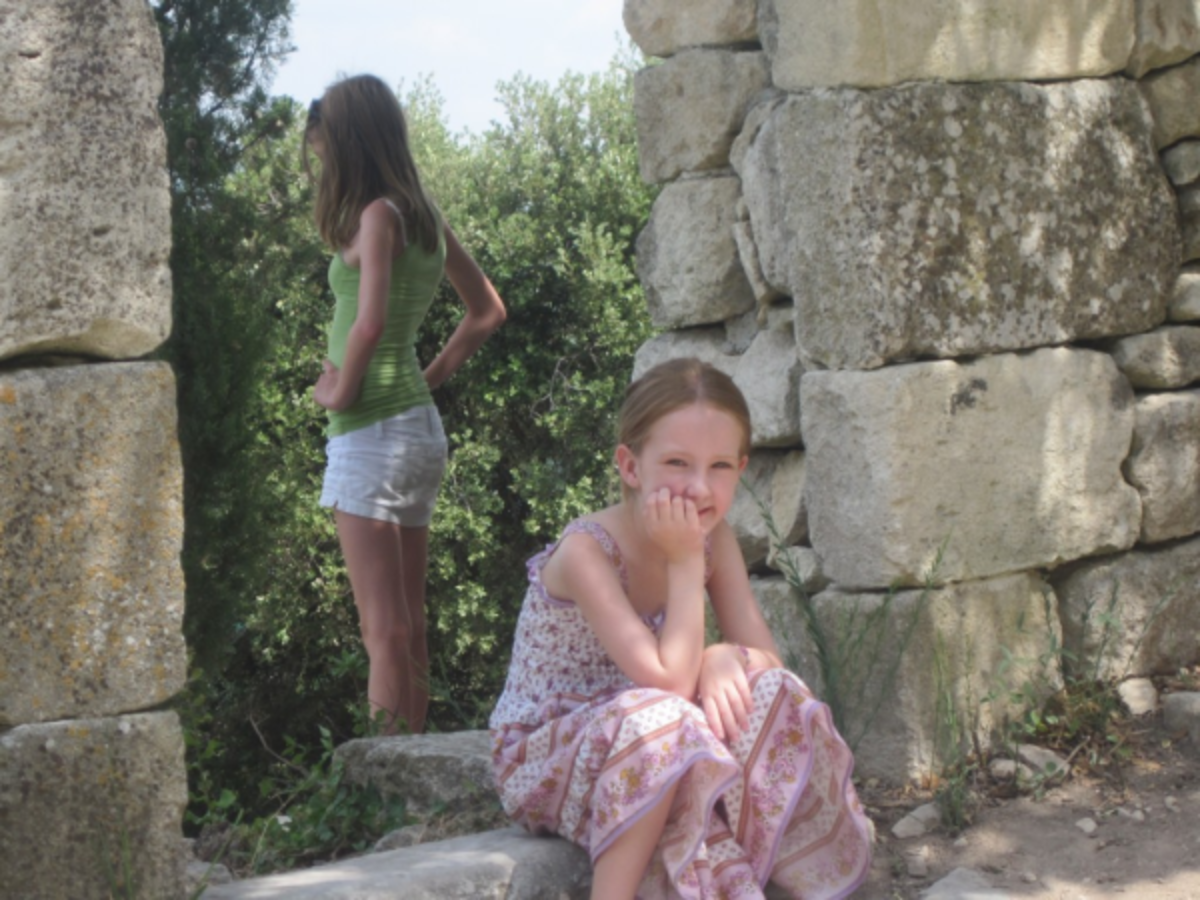 Headline for Provence with Kids – A Dream Come True
