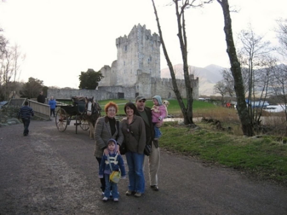 Headline for Top 5 Tips for Traveling Through Ireland with Kids