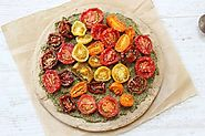 Buckwheat Hemp Pesto Pizza