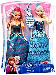 Disney Frozen Anna & Elsa Fashion Doll 2-Pack Limited Distribution