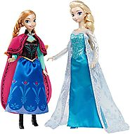 Disney Signature Collection Frozen Anna and Elsa Doll (2-Pack)