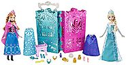 Disney Frozen Anna and Elsa's Royal Closet Gift Set