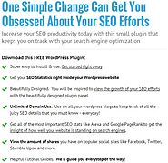 FREE: SEO Stone Wordpress Plugin