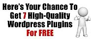 Free: 7 Wordpress plugins - AllUNeed2Succeed
