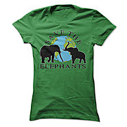 Save the Elephant T-Shirts and Hoodies - Great Gift Idea