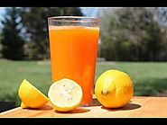 Raw Carrot Lemon Juice Recipe