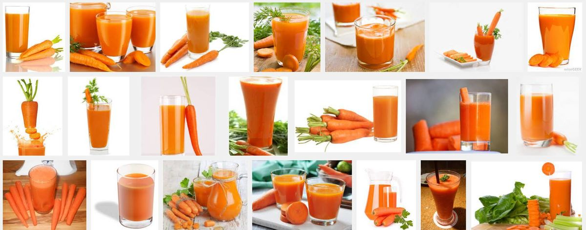 Headline for Healthy & Yummy Carrot Juice Recipes