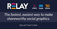 Create images online | RELAY