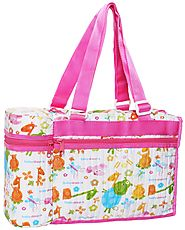 Bag With Feeding Bottle Warmer - Pink :: Baby Feeding & Nursing Bottle Warmer by Morisons Baby Dreams