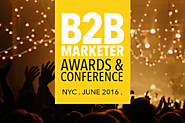 The B2B Marketer Awards | America's B2B marketing awards