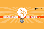 "Bright Bulb B2B 2015 Awards | ""Best of"" awards for B2B marketers"