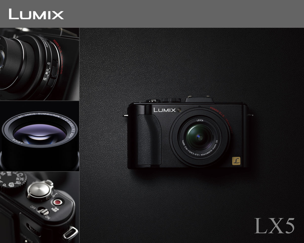 Headline for Newly Introduced Lumix Cameras From Panasonic
