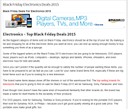 Black Friday 2015 Predictions