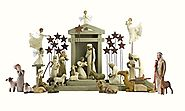 28 Pc. Willow Tree Nativity Package
