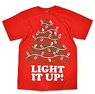 Men's Light It Up Christmas T-Shirt
