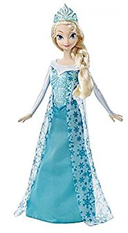 Disney Frozen Sparkle Princess Elsa Doll New Free Shipping