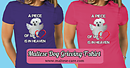 Grieving The Loss Of Maltese Dog T-shirt