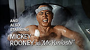 Mickey Rooney as I. Y. Yunioshi in Breakfast at Tiffany's (1961)