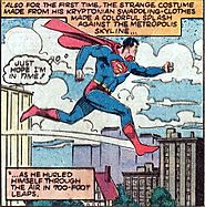 Thaddeus Howze's answer to When did Superman gain the power to fly and was there a good explanation? - Quora