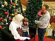 Santa at Phipps Plaza - Buckhead - Atlanta, Ga