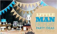 A Little Gentleman First Birthday Party – Boy Birthday Party Ideas...