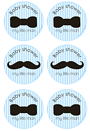 Free Printables Little Man Baby Shower Free Printables