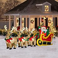 Decorating Your Yard With Christmas Outdoor Inflatables