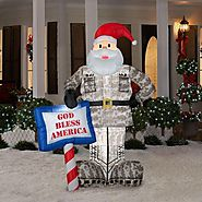 Outdoor Santa Inflatables