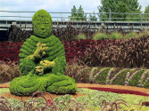 Living Plant Sculptures Amazing topiary...