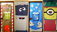 21 Amazing Classroom Doors for Winter and the Holidays