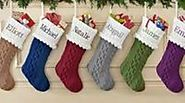 Best Embroidered Personalized Christmas Stockings 2016