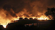 2 Huge Blast In China City Tianjin At Least 50 People Died 700 Injured