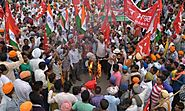 Millions Of India Workers On Strike Against Reforms Labour Modi
