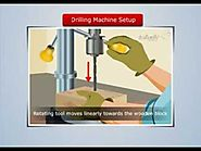 Magic Marks: Drilling Machine Setup