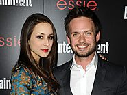 Patrick J. adams and Troian Belissario are engaged.